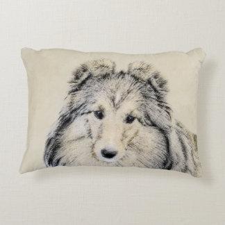 Shetland Sheepdog Decorative Pillow