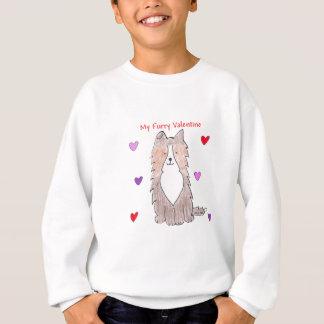 Shetland Sheepdog Furry Valentine Sweatshirt
