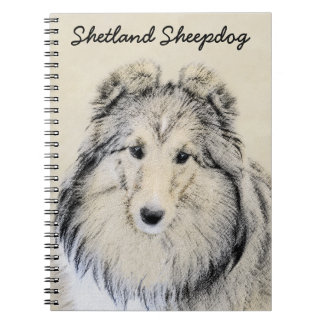Shetland Sheepdog Notebook