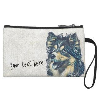 Shetland Sheepdog Painting Cosmetic Bag