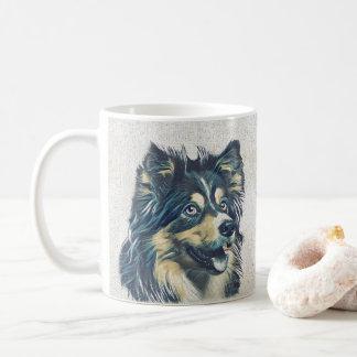Shetland Sheepdog Painting Mug