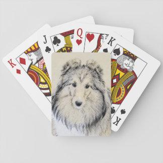 Shetland Sheepdog Playing Cards