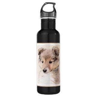 Shetland Sheepdog Puppy 710 Ml Water Bottle