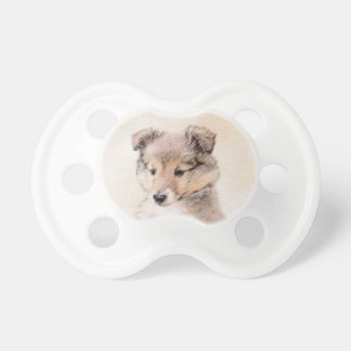 Shetland Sheepdog Puppy Pacifier