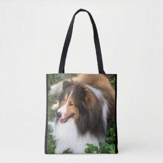 Shetland Sheepdog, Sheltie Addict Totebag Tote Bag