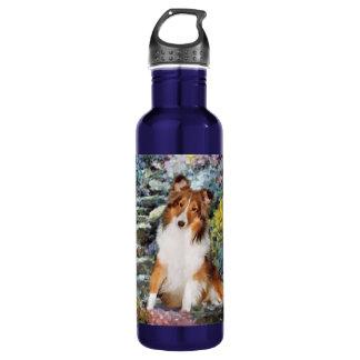 Shetland Sheepdog Sheltie Art 710 Ml Water Bottle