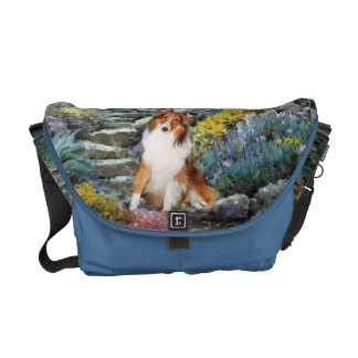Shetland Sheepdog Sheltie Art Gifts Commuter Bag