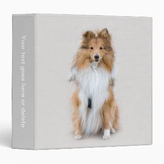 Shetland Sheepdog, sheltie custom photo album Binder
