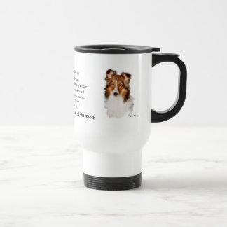 Shetland Sheepdog Sheltie Gifts Travel Mug