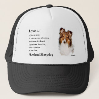 Shetland Sheepdog Sheltie Gifts Trucker Hat