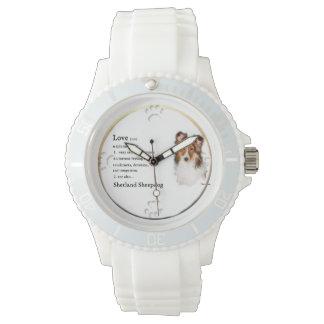 Shetland Sheepdog Sheltie Lovers Gifts Watch