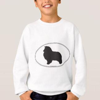 Shetland Sheepdog Silhouette Sweatshirt