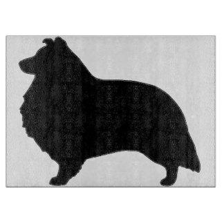 shetland sheepdog silo black boards