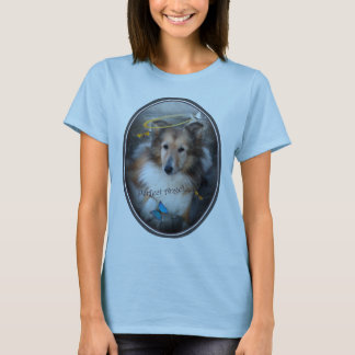 "Shetland Sheepdog ""The Perfect Angel "" apparel T-Shirt"