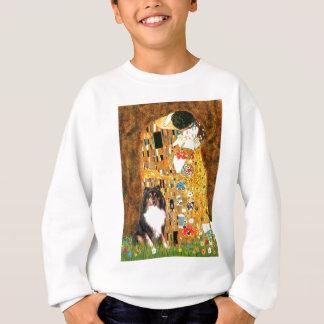 Shetland Sheepdog (Tri11) - The Kiss Sweatshirt