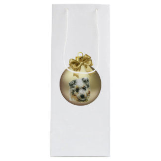 Shetland Sheepdog Wine Gift Bag