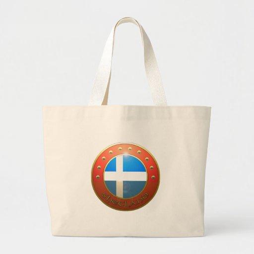 Shetland shield bags