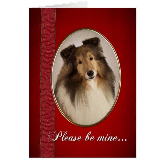 Shetlie Valentine Card