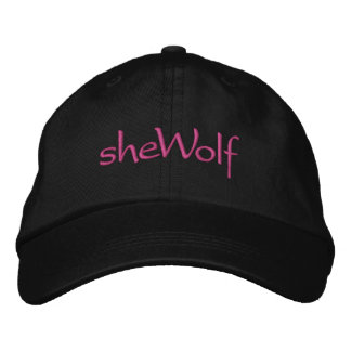 sheWolf Embroidered Hat