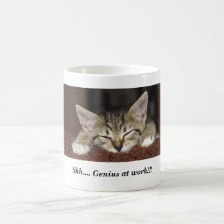Shh.... Genius at work!!! Coffee Mug