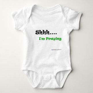 Shhh... I'm praying Baby Bodysuit