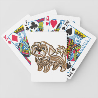 Shi-tzu Bicycle Playing Cards