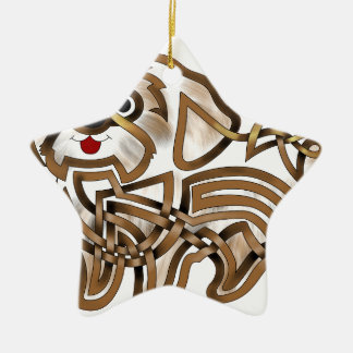 Shi-tzu Ceramic Ornament