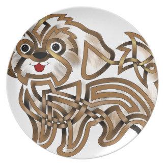 Shi-tzu Dinner Plates