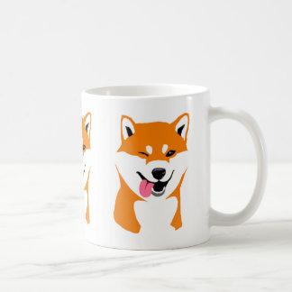 Shiba cup inu Wink