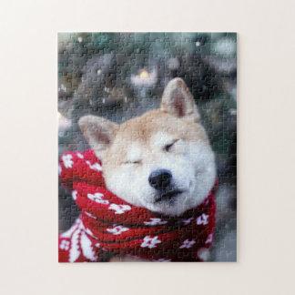 Shiba dog - doge dog - merry christmas jigsaw puzzle
