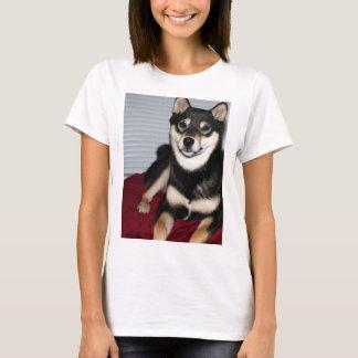 shiba full black and tan T-Shirt