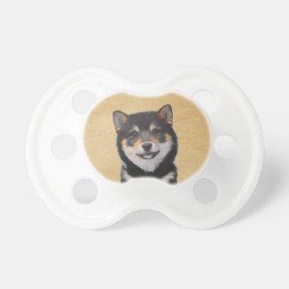 Shiba Inu (Black and Tan) Baby Pacifiers