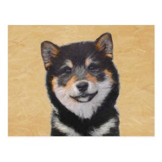Shiba Inu (Black and Tan) Postcard