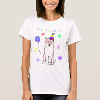 Shiba Inu Celebrate T-Shirt