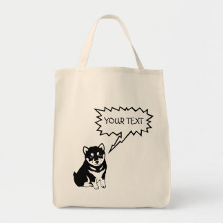 Shiba Inu Chinese Dog Year 2018 Cotton Tote Bag