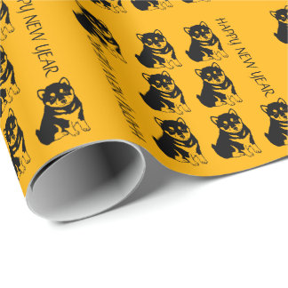 Shiba Inu Chinese Dog Year 2018 G Wrapping Paper