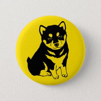 Shiba Inu Chinese Dog Year 2018 Round Button