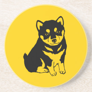 Shiba Inu Chinese Dog Year 2018 Round Coaster