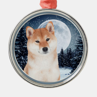 Shiba Inu Christmas Ornament