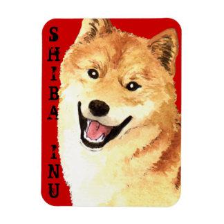 Shiba Inu Color Block Magnet