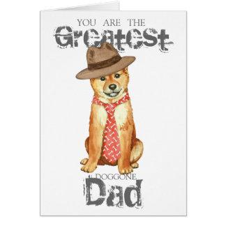 Shiba Inu Dad Card