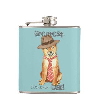 Shiba Inu Dad Flasks