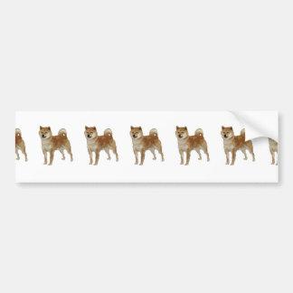 Shiba Inu Dog Bumper Sticker