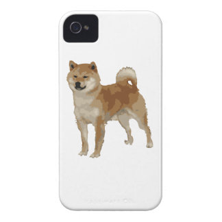 Shiba Inu Dog Case-Mate iPhone 4 Cases