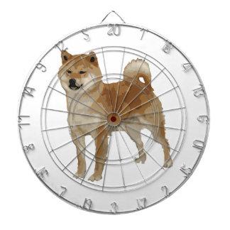 Shiba Inu Dog Dartboard