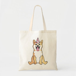 Shiba Inu Dog Drawing Cute Tote Bag