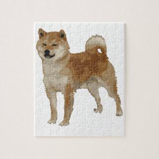 Shiba Inu Dog Jigsaw Puzzle