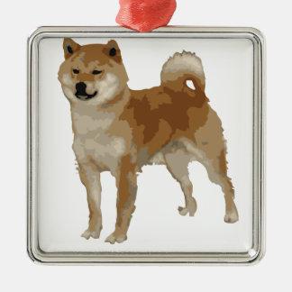 Shiba Inu Dog Metal Ornament