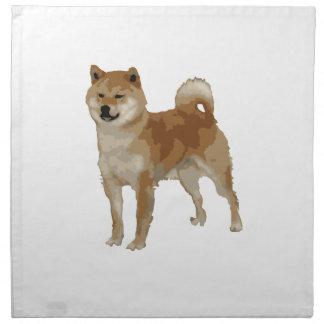 Shiba Inu Dog Napkin