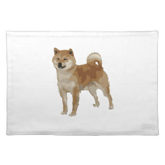 Shiba Inu Dog Placemat